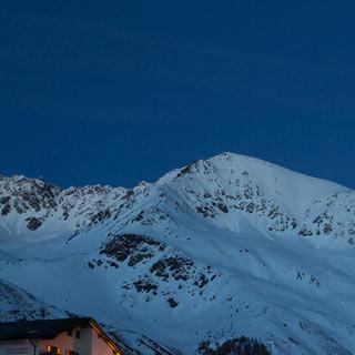 Melag - Ende der Welt: Hinter Melag warten die großen Skitourengipfel der Ötztaler.