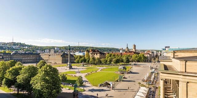 Der Schlossplatz in Stuttgart. © Stuttgart-Marketing GmbH, Werner Dieterich