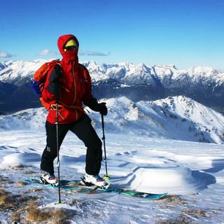 Auch das kommende Wochenende wird am Alpenhauptkamm sehr stürmisch. Foto: DAV/Michael Pröttel