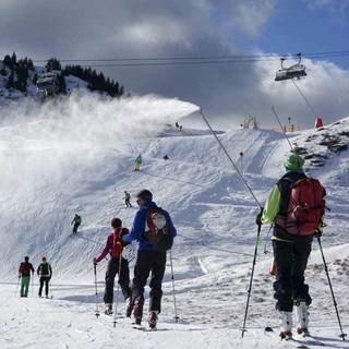 Pistentourengehen in den Kitzbüheler Alpen (Pass Thurn - Resterhöhe)