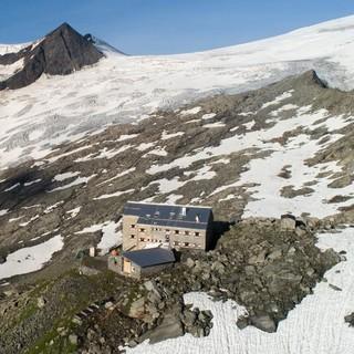 Die Neue Prager Hütte im Nationalpark Hohe Tauern - Fotocredit: DAV/ Jens Klatt