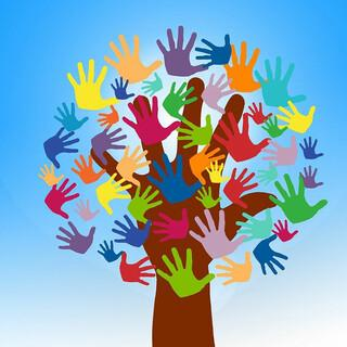 Hände-Baum, Foto: pixabay