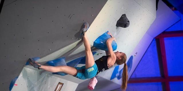 Hannah Meul im Halbfinale in Meiringen. Foto: Sytse van Slooten