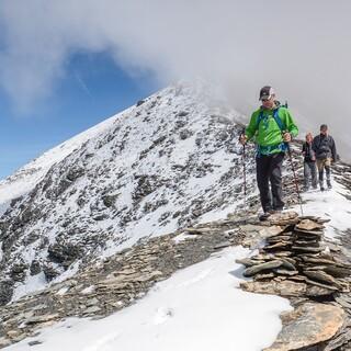 Im Abstieg vom Garde de Bordon zur Cabane de Moiry, Foto: DAV/Bernd Jung