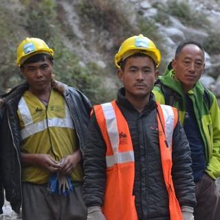 Wegesanierung Langtang/Nepal, Foto: G. Amor