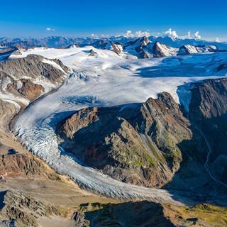 Gletscher-Luftbild cr DAV Bodenbender