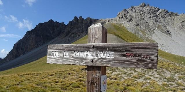 Tag 8: Am Ende des Vallon de l'Opon verbindet der GR 5 durch eine sehr schöne Höhentraverse den Col de Dormillouse mit dem Col de la Lauze auf 2529 Metern.