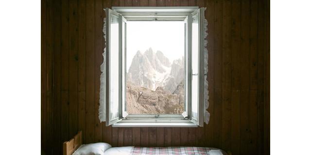 Auronzohütte Drei Zinnen, Sextener Dolomiten Italien, 2015, Foto: Uli Wiesmeier/Knesebeck Verlag