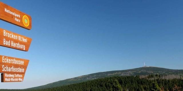Ein Mittelgebirge, aber von durchaus ernstzunehmender Größe. Foto: Folkert Lenz