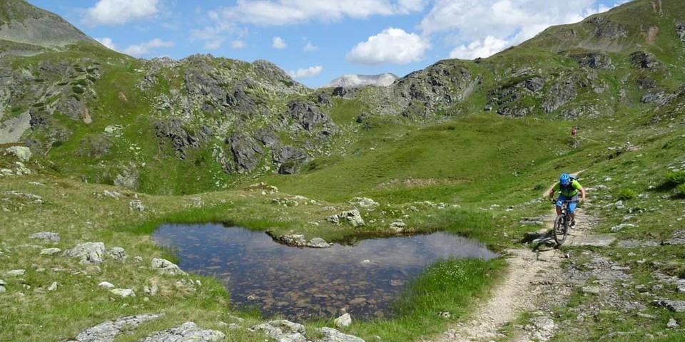 Taurista: Auf dem Trail zur Seekarscharte in den Obertauern. Foto: Traian Grigorian