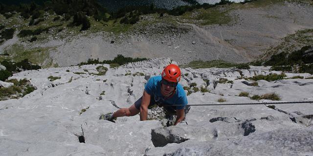 Jugendkurs-Alpinklettern in der Schweiz, Foto: JDAV/Ben Miroux