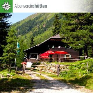 Rudolf-Schober-Hütte, Foto: L. Löwenherz