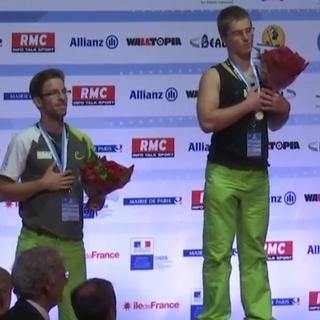 Erfolg für die Deutschen Paraclimber Franck (re.) und Helsper.