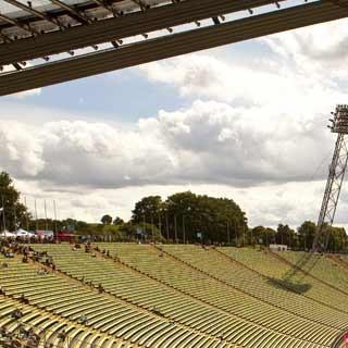Beste Bedingungen im Münchner Olympiastadion. Foto: Marco Kost