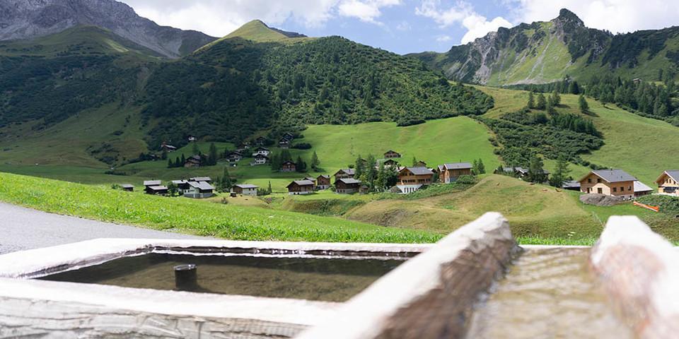 Naturidyll: der Nenzinger Himmel im Gamperdonatal (Vorarlberg). Foto: Ute Watzl