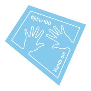 Hands on!-Motiv der JDAV