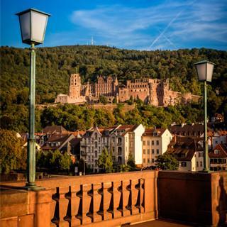 Alte Brücke und Schloss in Heidelberg, Foto: Tobias Schwerdt, Heidelberg Marketing GmbH