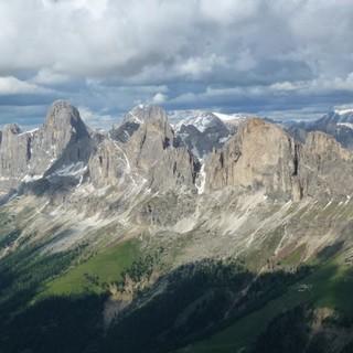 Der Rosengarten - symbolträchtiger und markanter Berg der Dolomiten (Foto: AVS)