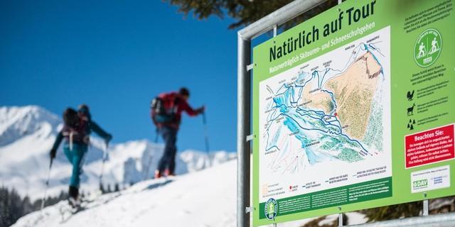 Skitourengeher: Natürlich auf Tour