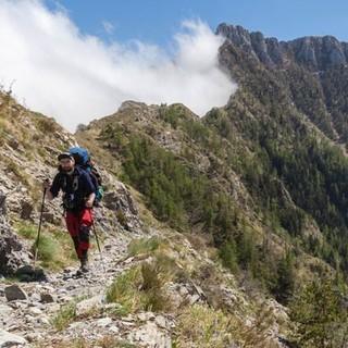 Die Wege an Torraggio und Monte Pietravecchia (2038 m) wirken reichlich alpin. Foto: Ingo Röger