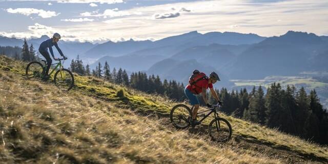 Bei Mountainbike-Unfällen wird die Bergrettung nicht häufiger gerufen als bei anderen Bergsportarten. Foto: DAV/Silvan Metz
