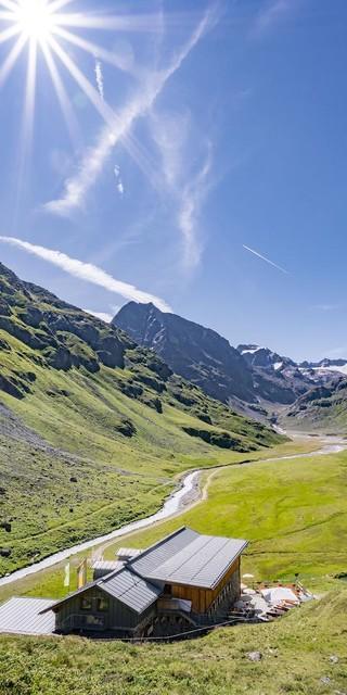 Sommer in den Bergen - Amberger Hütte, Foto: Stephanie Maria Lohmann