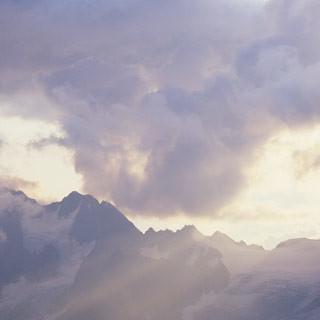 Rheinland-Pfalz-Biwak - Eine Übernachtung auf dem Rheinland-Pfalz-Biwak verspricht Erlebnis: Blick zum Kaunergrat