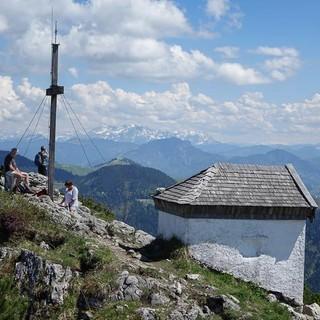 Kapelle auf dem Gipfel des Spitzstein, Foto: Axel Klemmer
