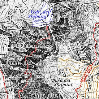 Kartenausschnitt Brentagruppe (51)