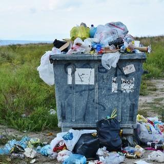 überfüllter Müllcontainer; Foto: pixabay-RitaE