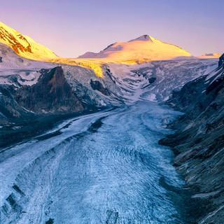 Gletscher im Schwund: Pasterze, Foto: Popp/Hackner