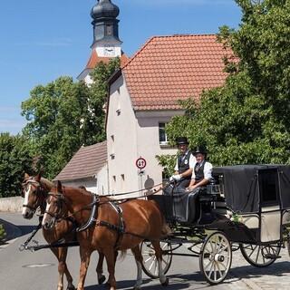 Leipzig = vielfältige Landschaft! Mit historischen Dörfern und viel Tradition. Foto: DAV/Ingo Röger