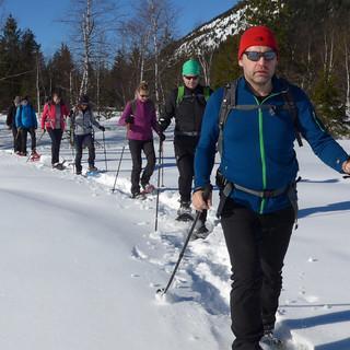 Das Wertachquellgebiet bei Oberjoch eignet sich gut für leichte Einsteigertouren im lawinensicheren Gelände. Foto: Thomas Krobbach