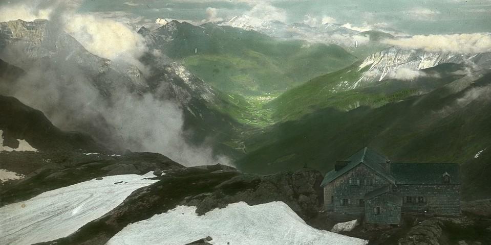 Panorama von der Magdeburger Hütte. Archiv des DAV, München