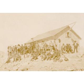 Einweihung der Braunschweiger Hütte, 1895. Archiv des DAV, München
