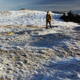 In den Bayerischen Alpen muss man mit etwas Schneekontakt rechnen. Foto DAV/Pröttel