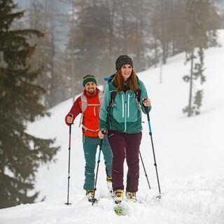 Geht in manchen Regionen gut, in anderen noch nicht: ÖPNV-Skitouren. Foto DAV/Marco Kost