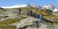 In Sichtweite des Basòdinogletschers zweigt der Weg ab zur Bocchetta di Val Maggia. Foto: Folkert Lenz