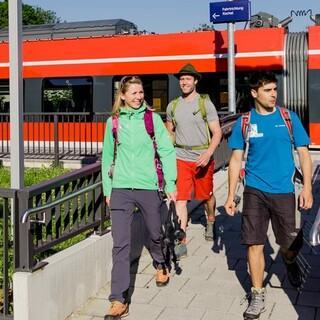 Mit den Öffis auf (Berg-)Tour, Foto: DAV/Hans Herbig