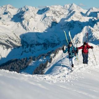 Touren im Winter benötigen gute Vorbereitung, Foto: DAV/Daniel Hug