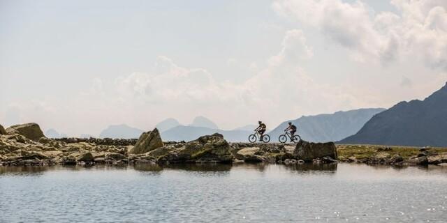 Viele Möglichkeiten um die Dortmunder Hütte - Mountainbiking in Kühtai, Foto: Innsbruck Tourismus