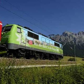 Mit der Bahn in die Berge. Foto: Wolfgang Ehn
