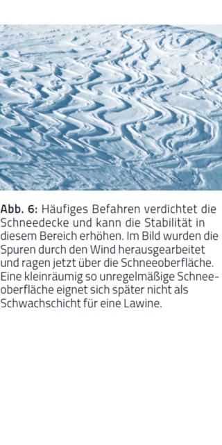 Schneeoberfläche