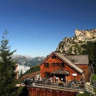 Blick auf die Erfurter Hütte, Foto: DAV