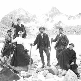 06. Auf der Hochebene. Aufnahme Eugen Albrecht, um 1900, Copyright Archiv DAV