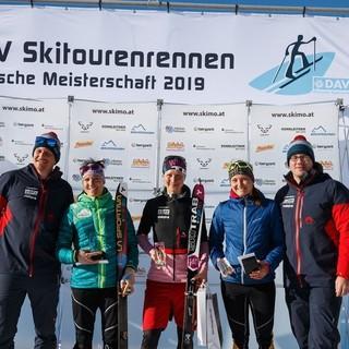 Podium Damen Deutsche Meisterschaft. Foto: DAV/Marco Kost