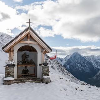Hüttenkapelle der Kaunergrathütte, Foto: DAV/Oliver Guse