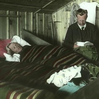 Hüttenruhe auf der Amberger Hütte