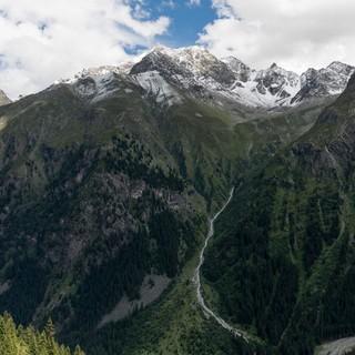 Tiefe Täler beim Anstieg zur Kaunergarthütte, Foto: DAV/Oliver Guse
