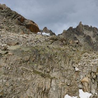 Cabane d'Orny - Hier spielt die Felsmusik: die Cabane d'Orny über dem gleichnamigen Gletscher